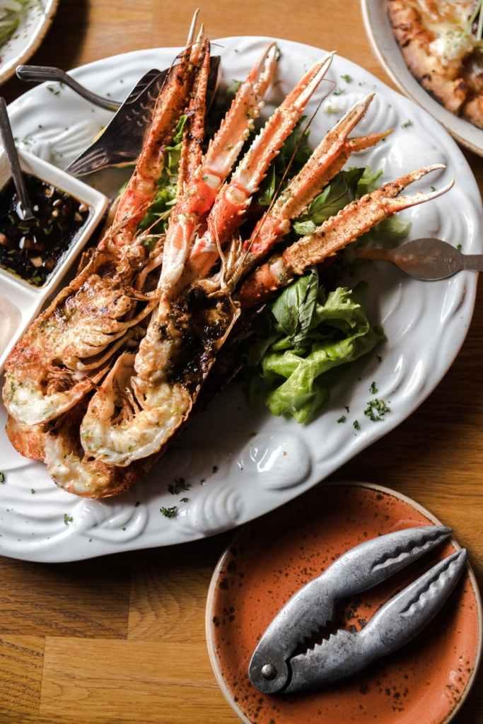 Lobster roast
